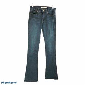 J Brand Dk Blue Enchanted bootcut jeans Sz 27